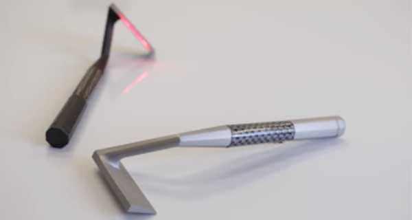 Skarp Lazer Razors are elegantly designed