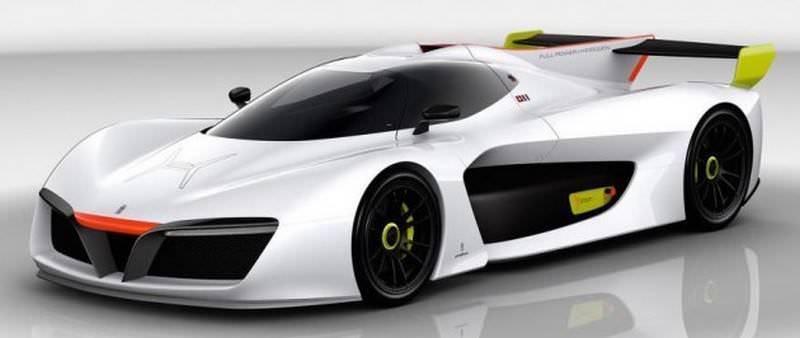 Pininfarina H2 Speed concept Geneva 2016