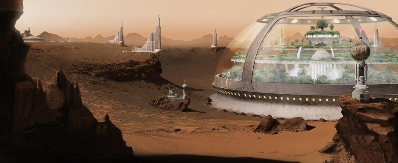 Elon Musk Mars colony 1