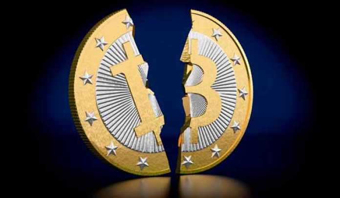 the second Bitcoin halving