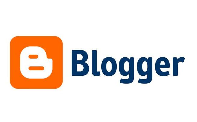 website using blogger