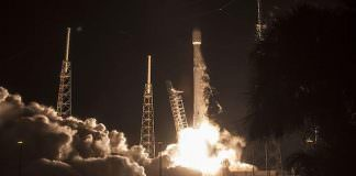 6th SpaceX Falcon 9 Lands Successfully After Satellite Launch