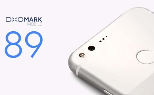 DXOMark rating for Pixel camera
