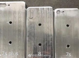 Molds that Supposedly Show the Size of Apple's 2017 iPhones Appeared Online