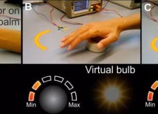 Virtual Skin Allows You to Move Objects with a Flick of Your Hand